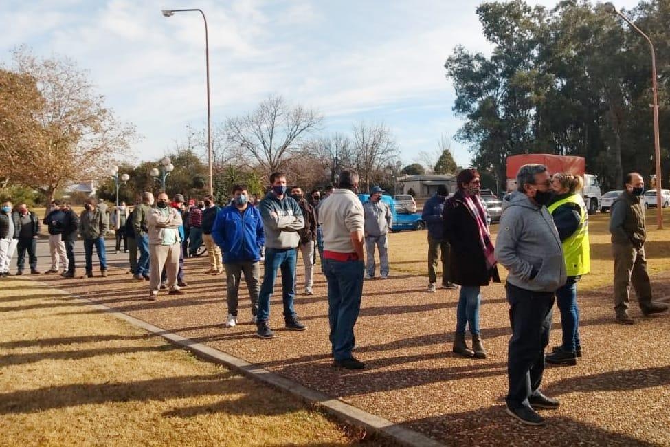 Se realizaron 98 hisopados a transportistas en Alvear, General Acha, Victorica y Santa Isabel