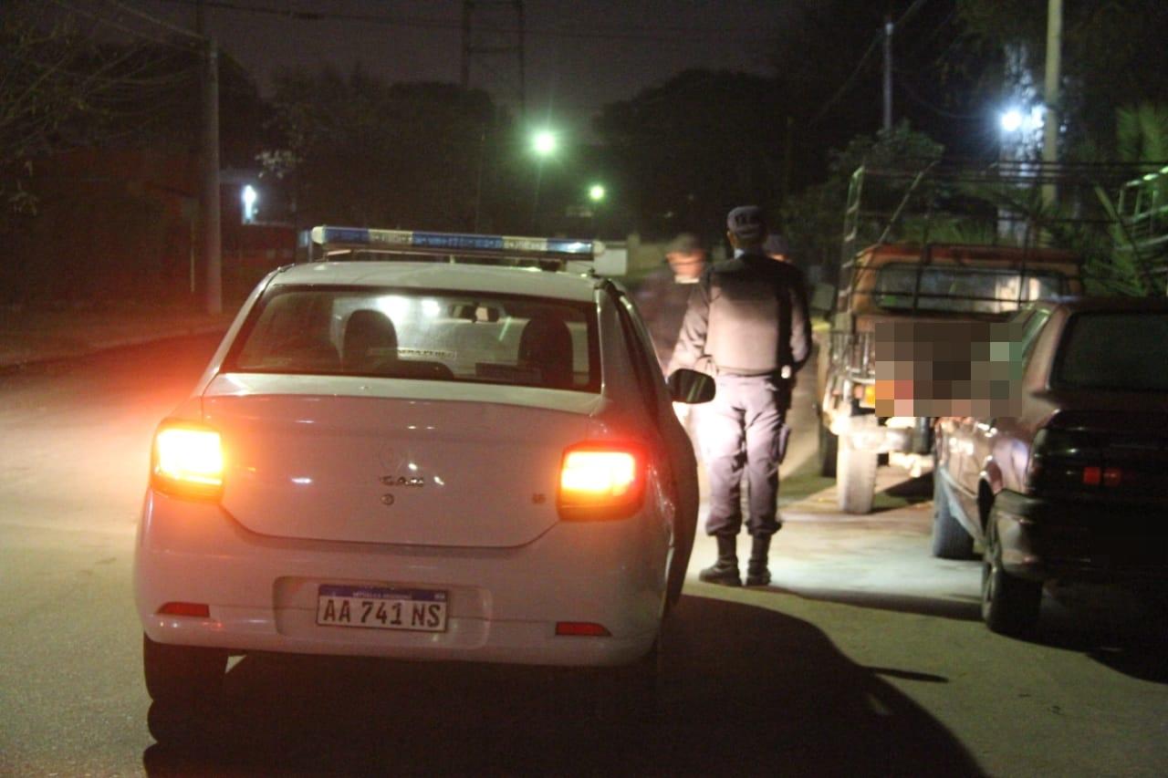 Allanamiento por los disparos en barrio El Molino: Demoraron a un joven de 17 años y a su pareja