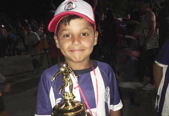 Tristeza y dolor en General Villegas por la muerte Bautista, el nene de 9 años que fue atropellado por un motociclista el día lunes
