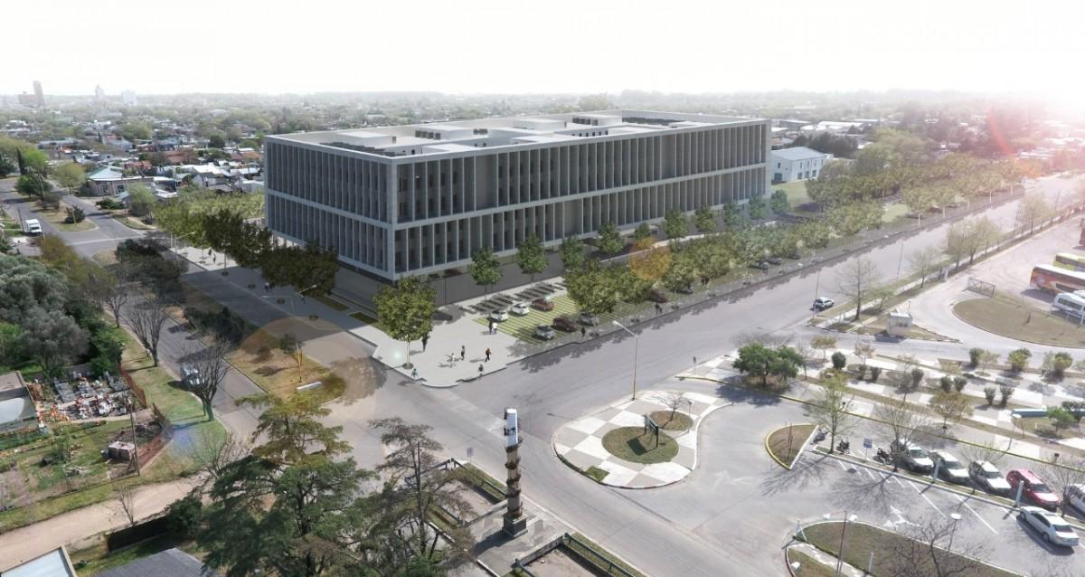 Edificio Judicial en General Pico: «El costo de la obra es de 20 millones de dólares», dijo Ziliotto