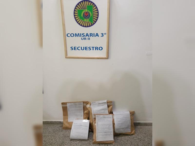 Secuestran diversas prendas de vestir que habían sido robadas días atrás: hay dos personas imputadas