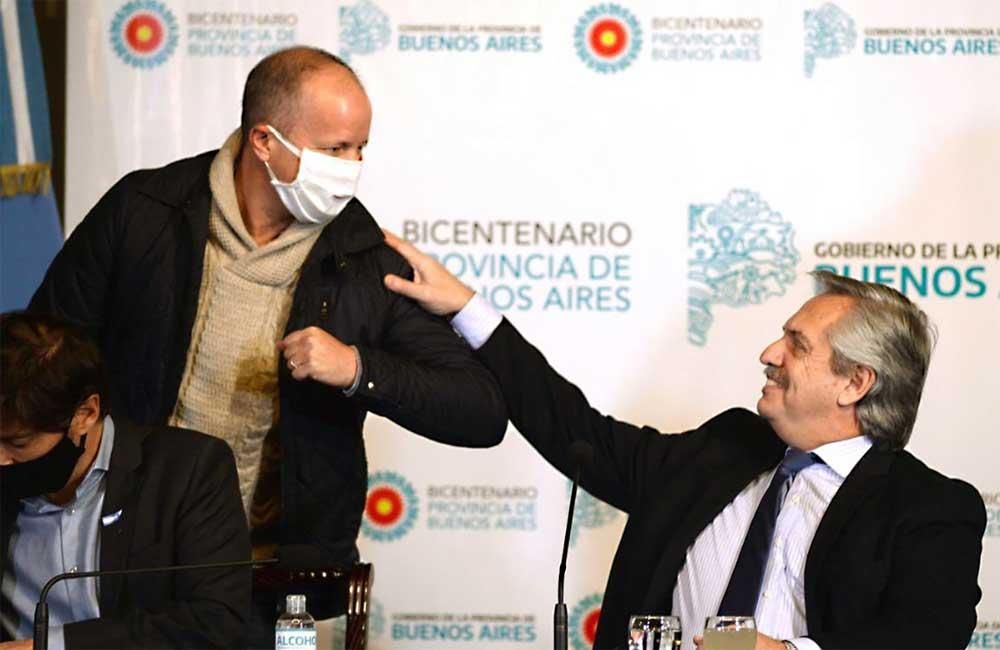 Por el contagio de Insaurralde, Alberto Fernández suspendió su viaje a Catamarca