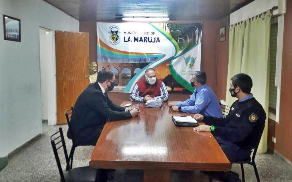 """Justicia y policía recorrieron localidades del norte provincial: """"El objetivo es controlar actividades y mantener estatus sanitario"""", afirmaron"""