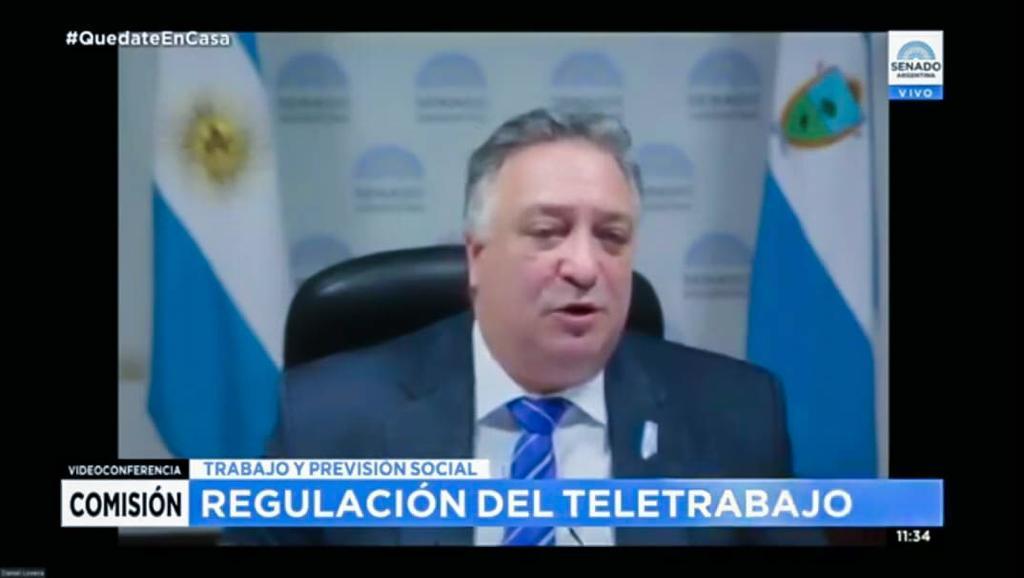 Lovera y la ley del Teletrabajo: «le va a cambiar la vida laboral a muchas familias argentinas», dijo Lovera