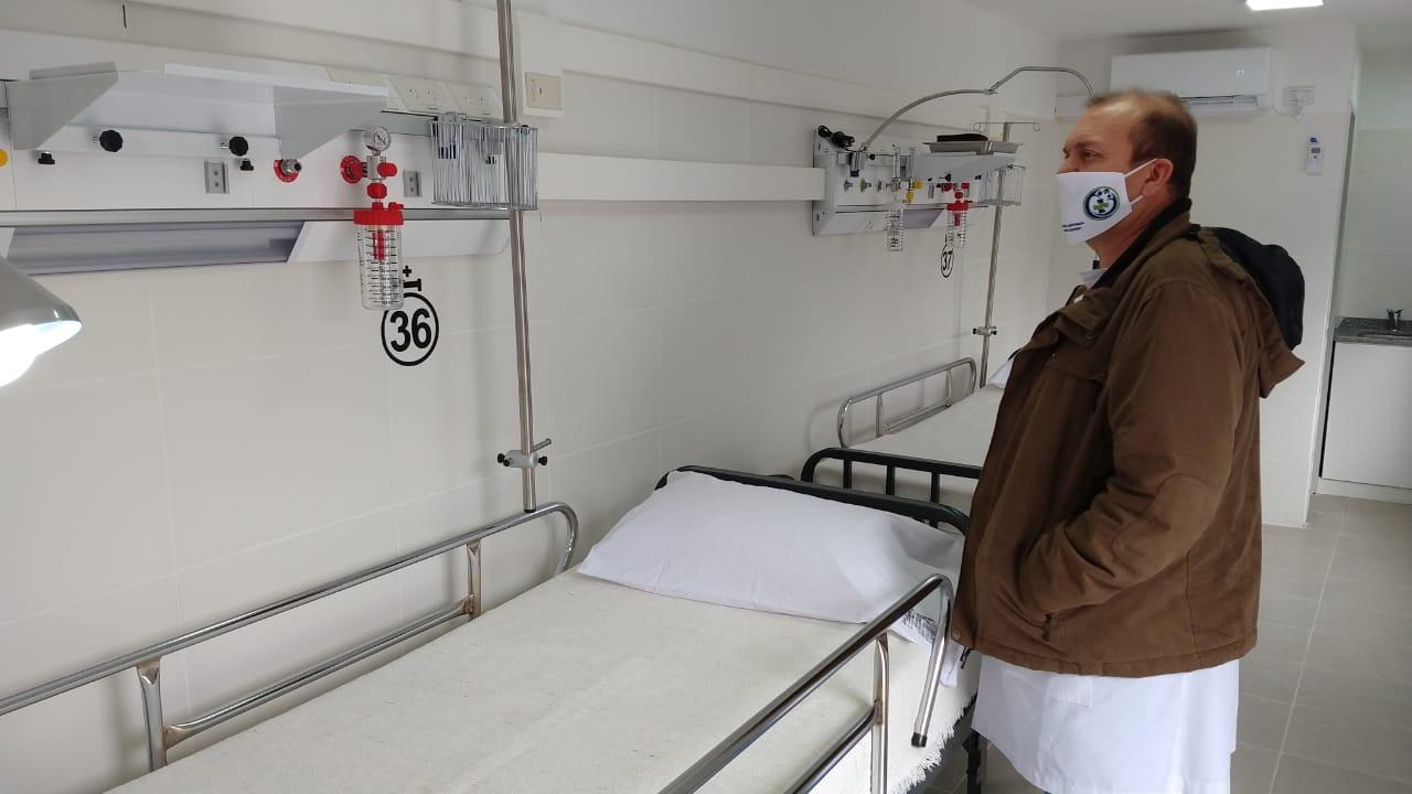 """El Director del Hospital, Dr. Esteban Vianello adelantó que se están definiendo los sectores para la próxima 'Búsqueda Activa': """"Trabajamos con zonas mapeadas y dependiendo del personal de Salud"""""""