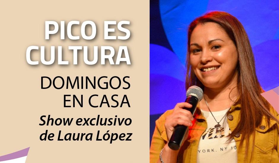 """Domingos en Casa"": Se presenta la cantante piquense Laura López"