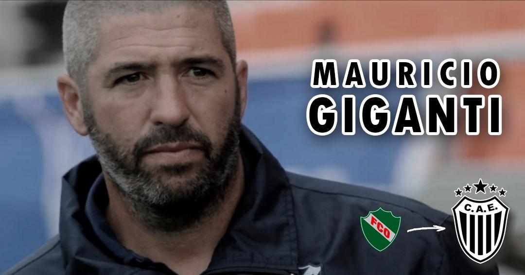 El pampeano, Mauricio Giganti es el nuevo entrenador del Club Estudiantes de Buenos Aires