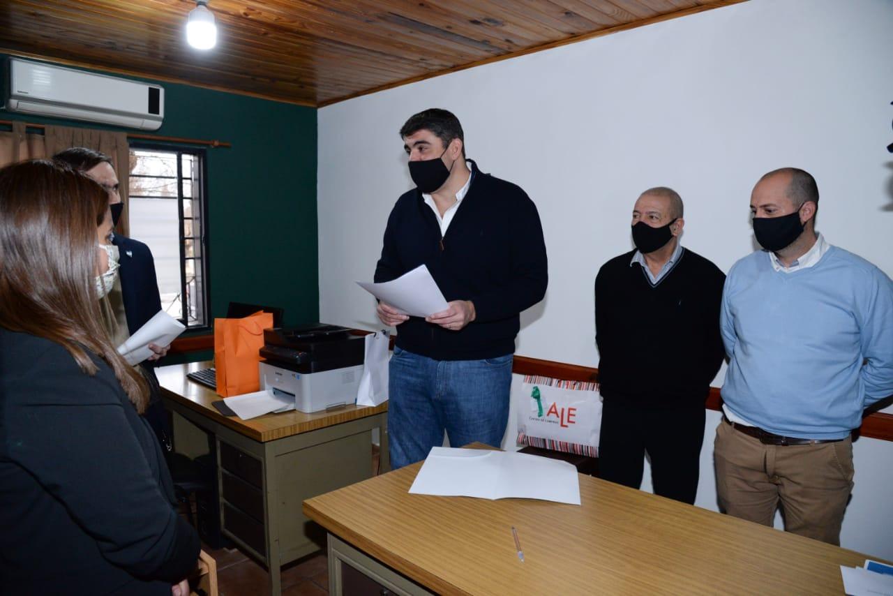 Presentaron a la nueva responsable del Registro Civil de Quetrequén