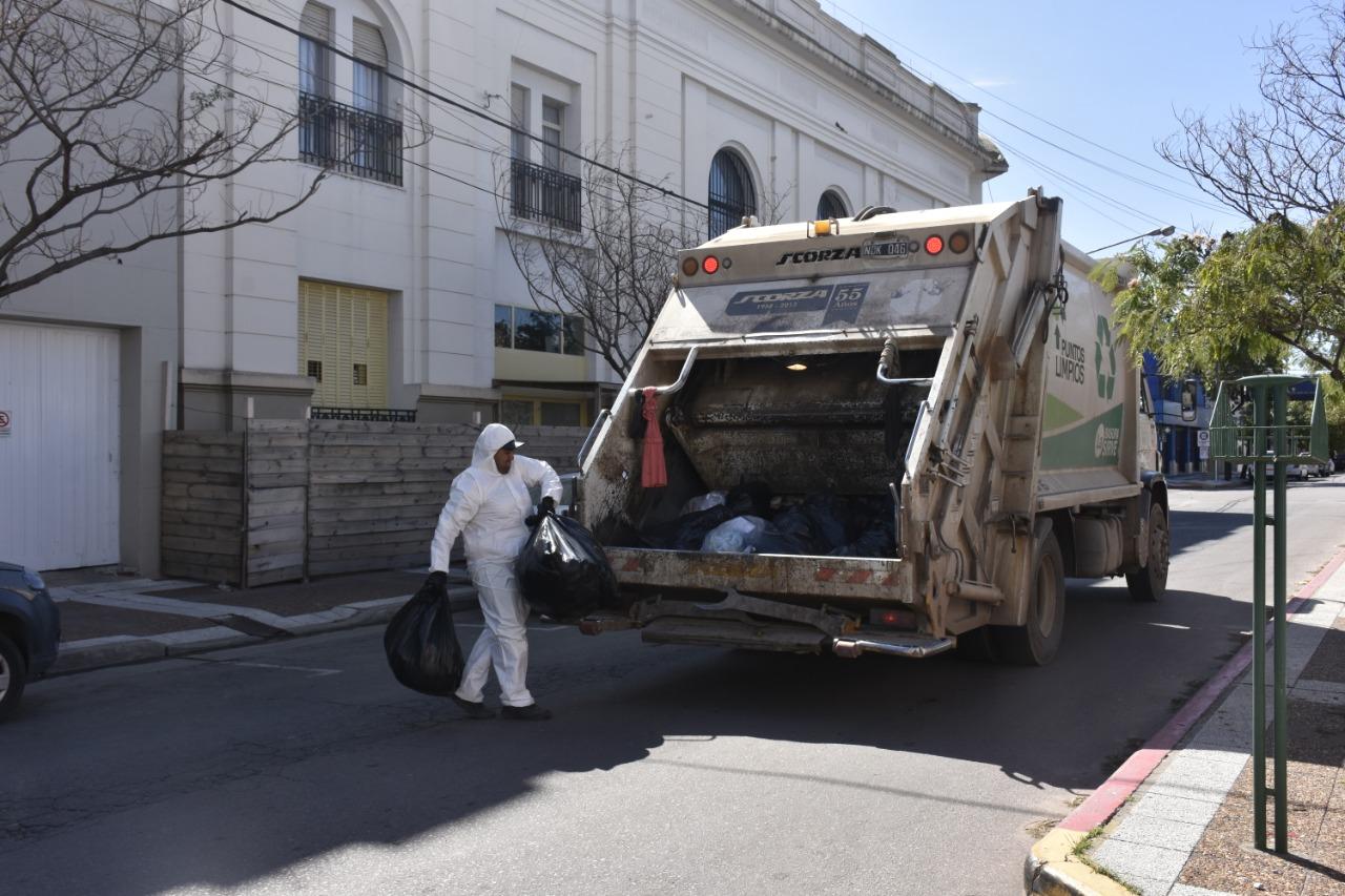 Por las inclemencias climáticas está suspendida la recolección domiciliaria de residuos