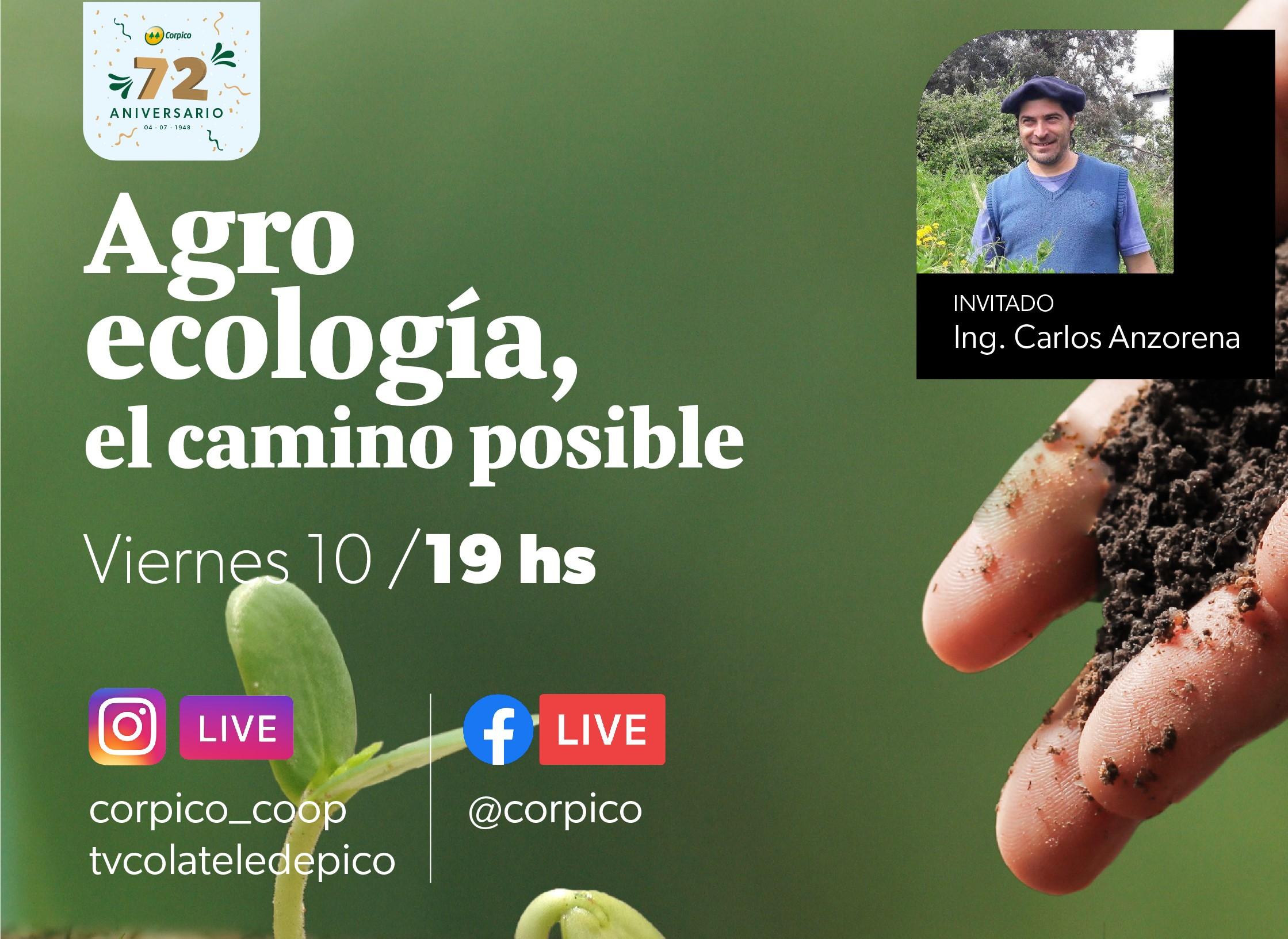 """Corpico organiza una charla denominada """"Agroecología: El camino posible"""""""