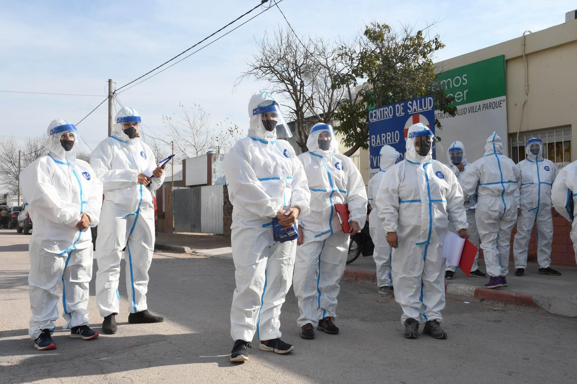Nación agregó a tres localidades de La Pampa como zonas de transmisión comunitaria del virus COVID-19