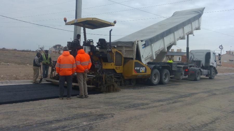 Avanzan las obras de las 165 cuadras de asfalto en Santa Rosa