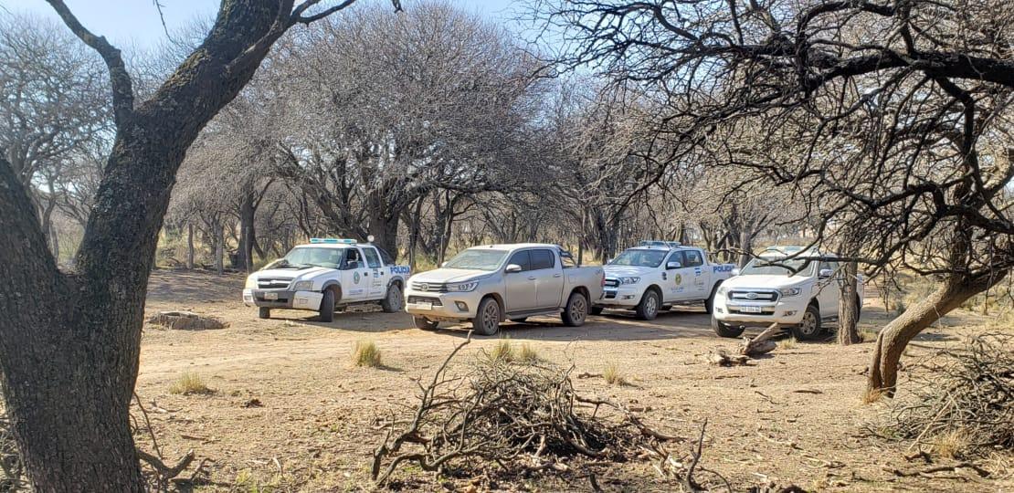 """Allanamiento por """"retención indebida"""": Policía de Castex trabajó para recuperar 600 vacunos en zona rural de Rucanelo"""