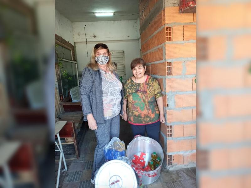 """Desde """"Rayito de luz"""" agradecieron públicamente por la donación de una olla que era indispensable para el funcionamiento del merendero"""