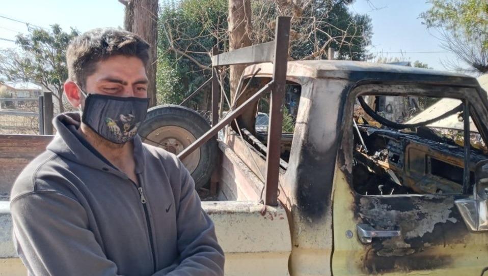 Cerca de Carlos Paz: Le quemaron la camioneta a un Bombero porque creían que tenía Coronavirus