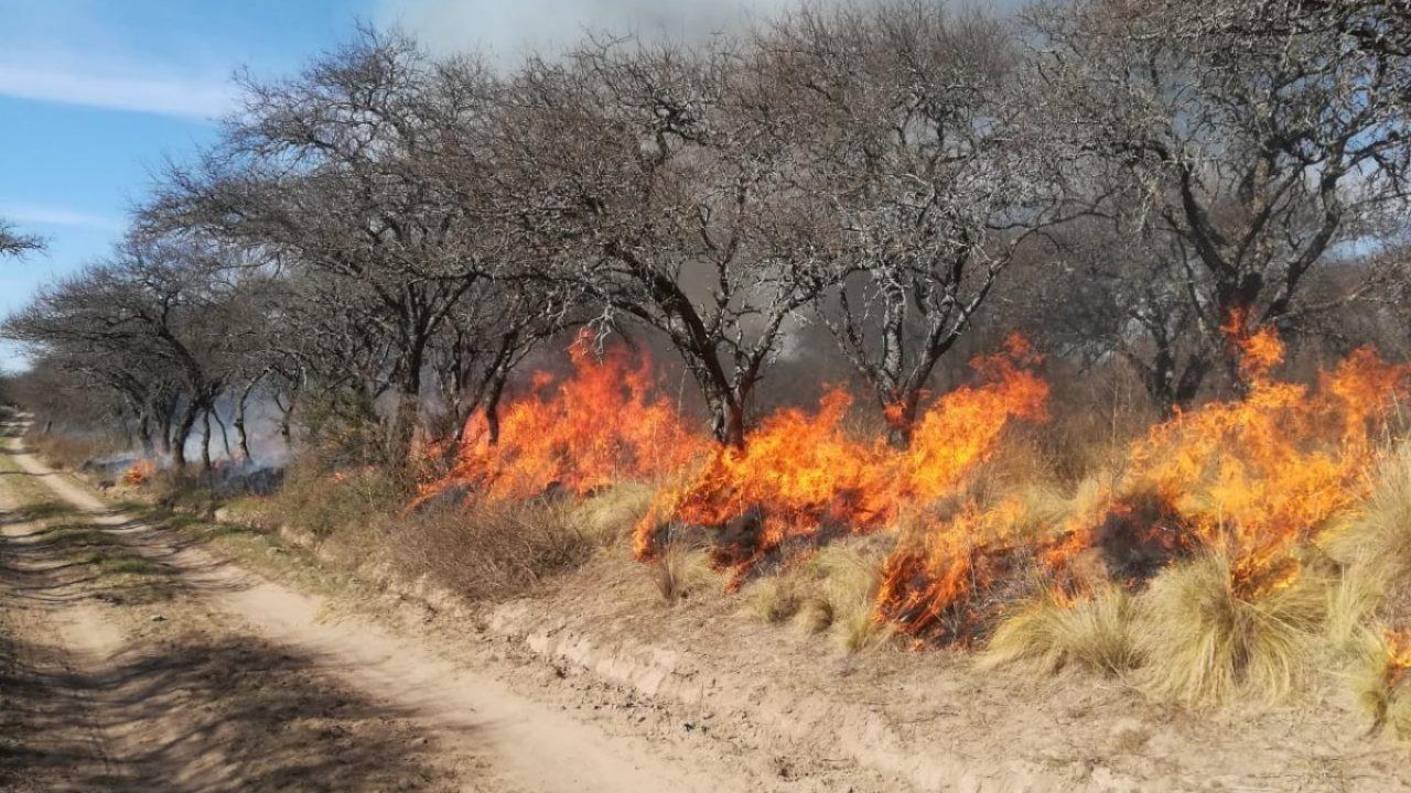 A partir de hoy se da por finalizada la temporada para quemas prescritas en La Pampa