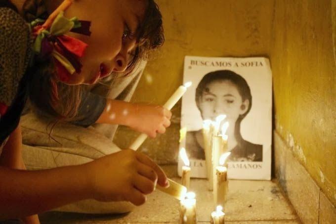 Hace ocho años se encontraba el cuerpo de Sofía Viale