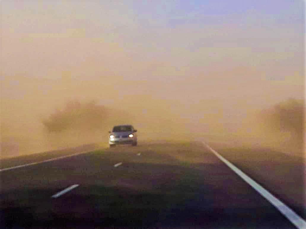 """Continúa el alerta por """"vientos fuertes con ráfagas"""" para toda La Pampa"""