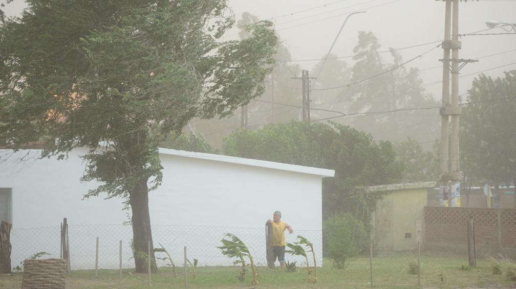 Alerta por «vientos intensos» para el sur de La Pampa
