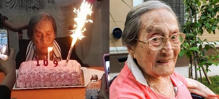 La historia de Yoli, una mujer querida por todos que atravesó el coronavirus a días de cumplir 110 años