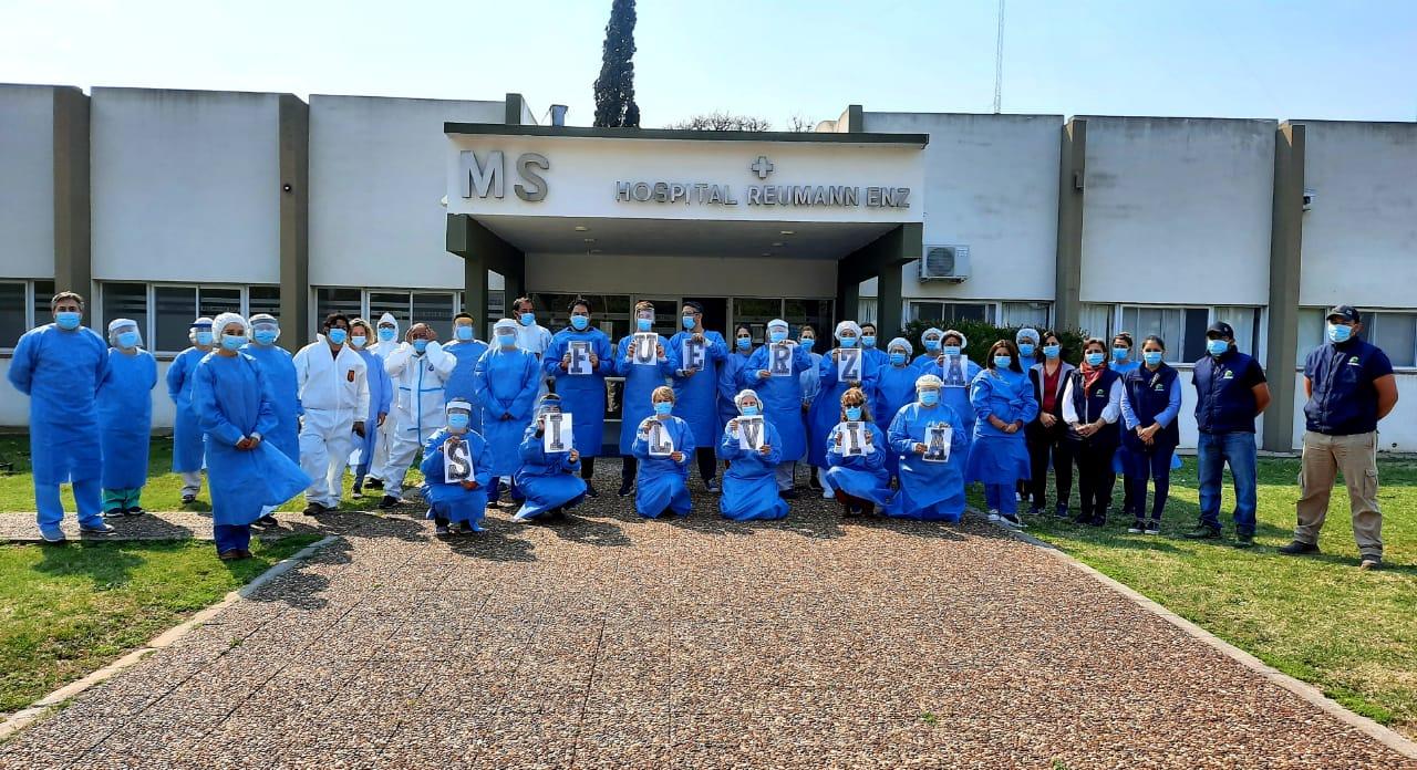 ¡Excelente Noticia!: El director del Hospital de Intendente Alvear afirmó «hoy podemos decir que el brote está controlado»