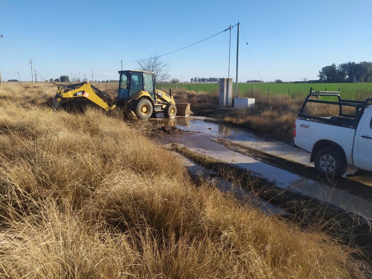 Desde CORPICO reparan la rotura de un ramal del acueducto que provee de agua a General Pico: Piden hacer uso racional del servicio