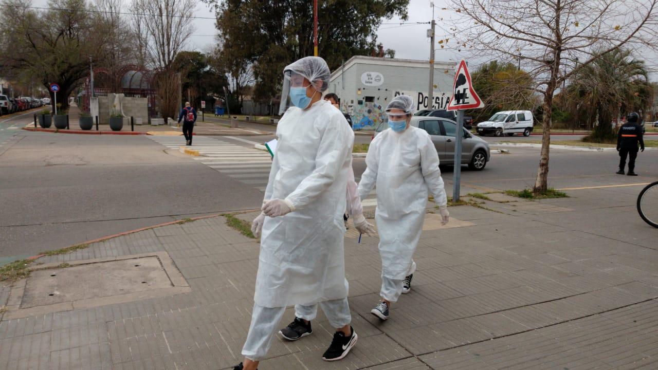 """Coronavirus en General Pico: Hoy se llevará a cabo la """"Búsqueda Activa"""" en el barrio Carlos Berg"""