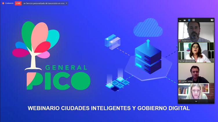 La Municipalidad de General Pico desarrolló la jornada Ciudades Inteligentes y Gobierno Digital