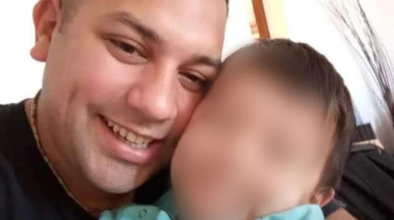 """Padre de un nene de cuatro años y miembro de la Policía Montada: quién era """"Rolfi"""", el oficial asesinado"""