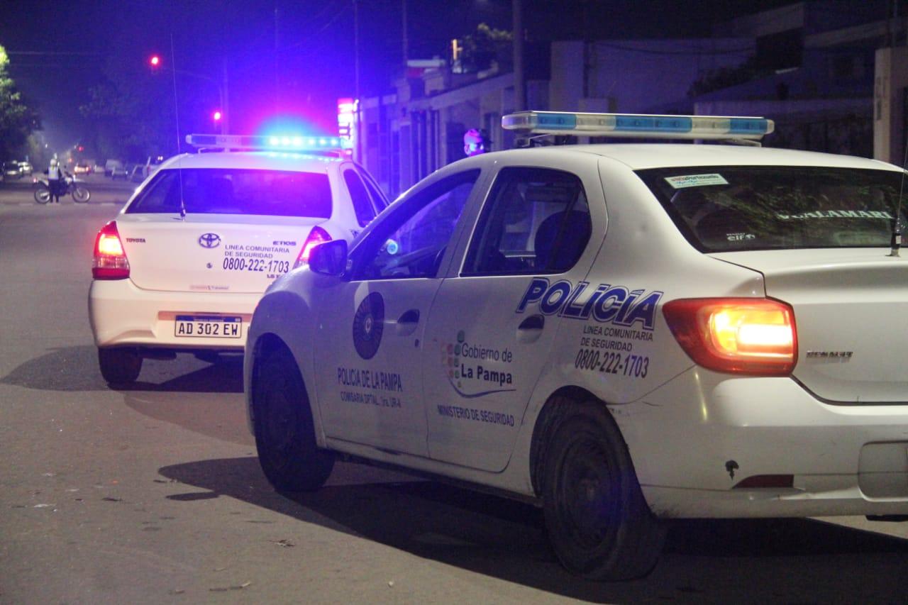 Se efectuaron controles de tránsito en diferentes localidades de La Pampa y se desbarató una fiesta clandestina en Victorica