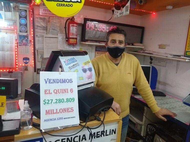 ¡Estaba a punto de vender su agencia y vendió un Quini ganador!: Ahora un afortunado cordobés obtuvo la suma de 27 millones de pesos