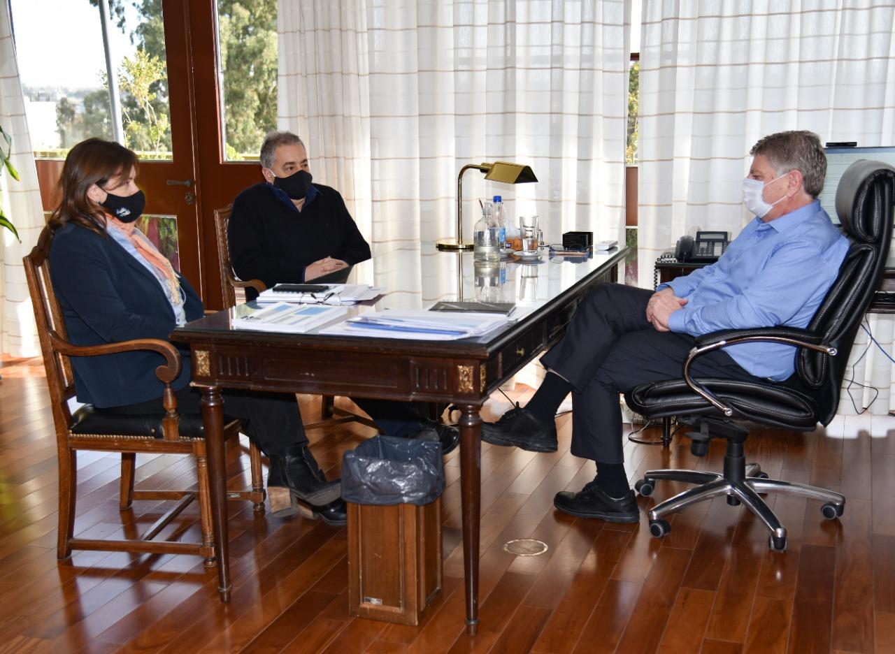 Fernanda Alonso se reunió con Sergio Ziliotto en Santa Rosa con el eje puesto en la financiación de las obras en La Pampa