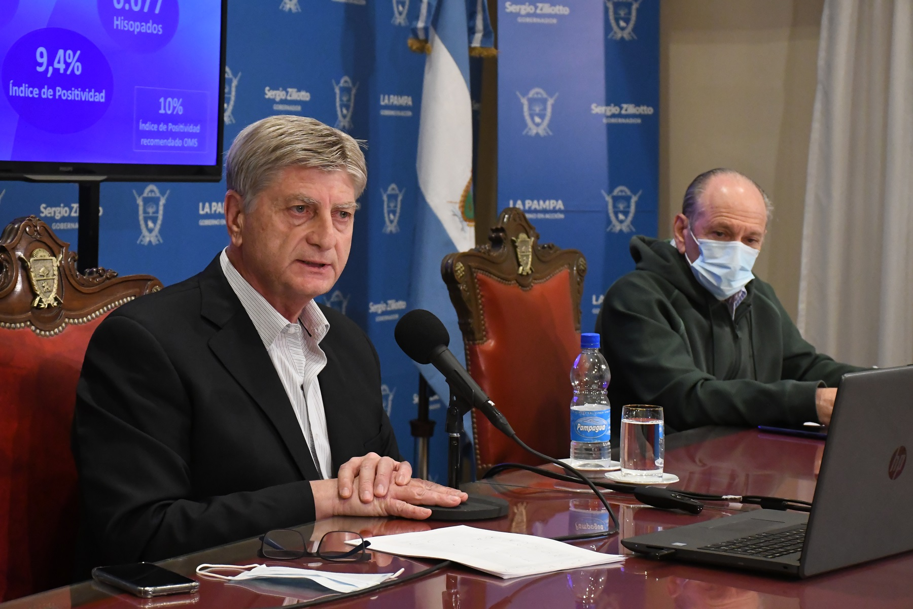 Mirá la conferencia de prensa del Gobernador Sergio Ziliotto