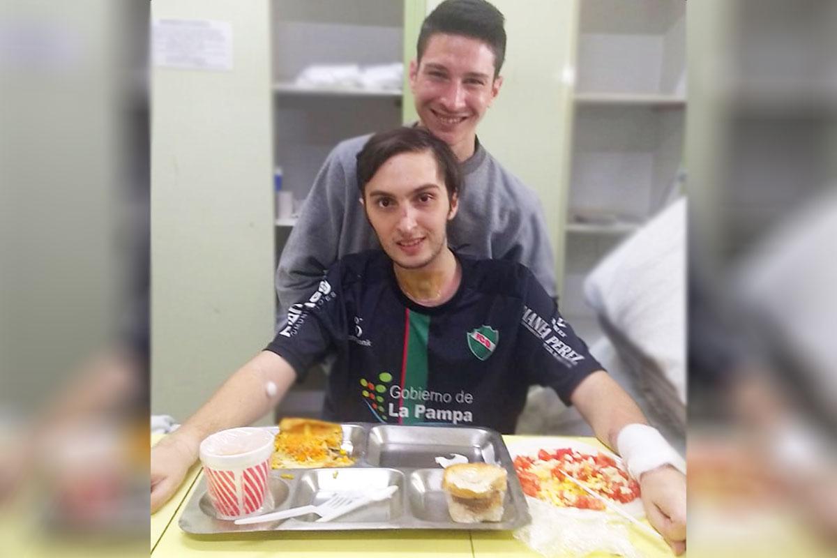 """¡La foto más esperada!: """"Tomi"""" Cisneros continúa con su rehabilitación de excelente manera"""