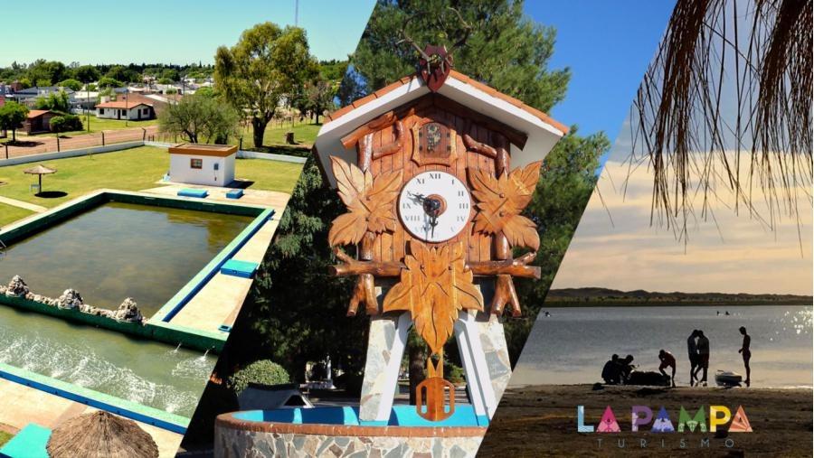 Continuaron las visitas virtuales a Larroudé, Eduardo Castex y General Acha