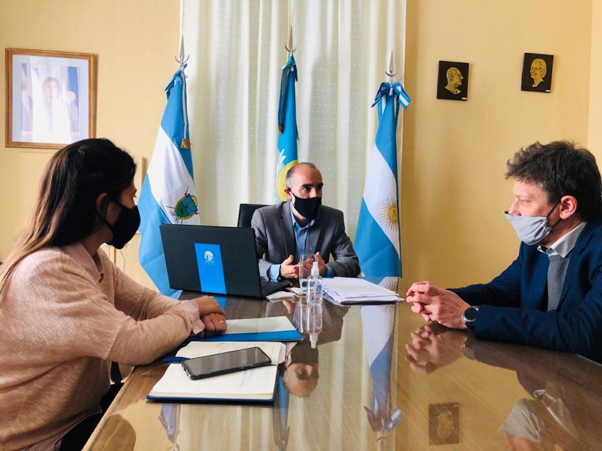 El rector de la UNLPam se reunió con el presidente del Concejo Deliberante de General Pico por el programa «Concejo Cerca»