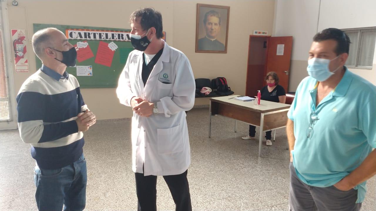 """""""Un comercio piquense cerró sus puertas por un contacto estrecho con un positivo"""", afirmó Roberto Bertone, Director Adjunto del hospital local"""