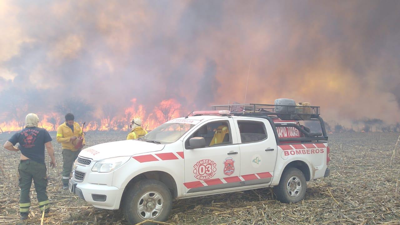 La Pampa: Ya está controlado el fuego que quemó 4.000 hectáreas de monte de Caldén