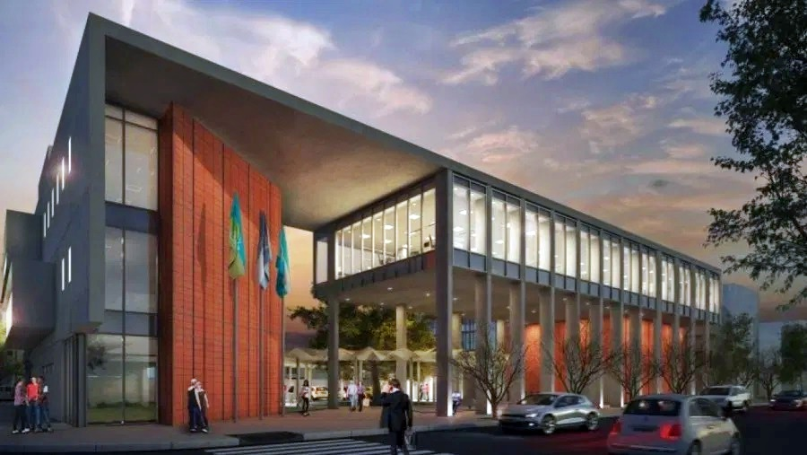 En octubre estará inaugurado el nuevo edificio administrativo del Concejo Deliberante y Juzgado de Paz de General Pico