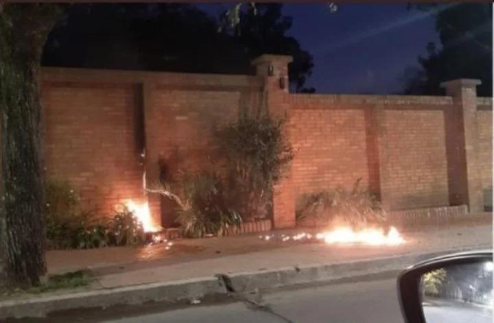 Un hombre fue detenido tras arrojar una bomba molotov contra la quinta presidencial de Olivos