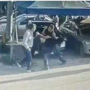 Video: un padre mató a puñaladas al presunto violador de su hija en México