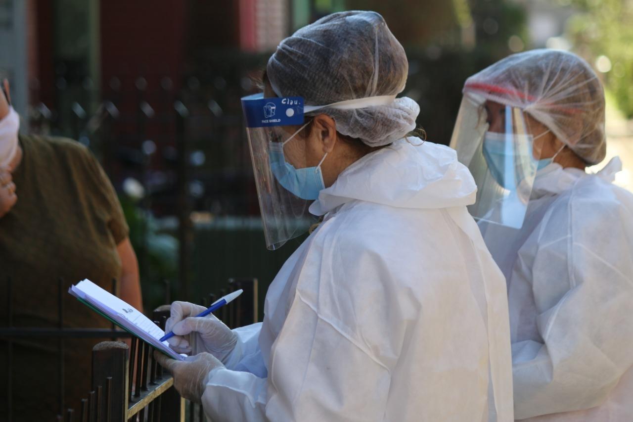 """""""Búsqueda Activa"""" en Toay, General Pico y Catriló: Se recorrieron más de 1.400 viviendas y se aguardan los resultados de los 32 hisopados realizados"""