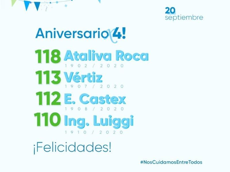 Hoy celebran sus aniversarios cuatro localidades de La Pampa