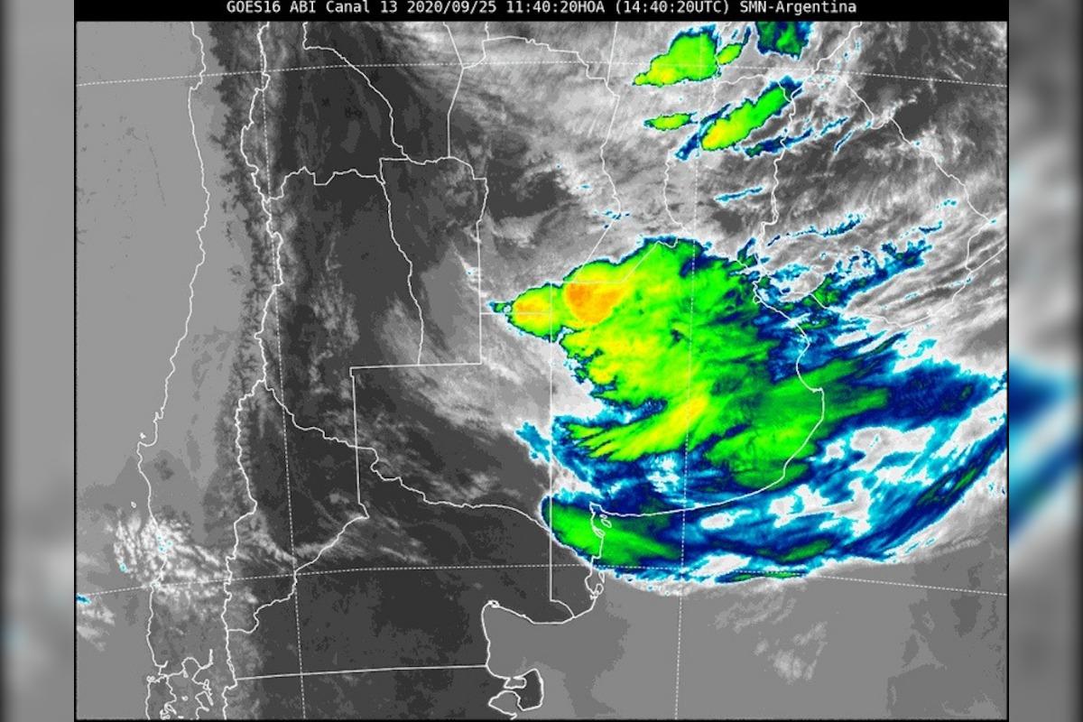 Renuevan el alerta meteorológico por «tormentas fuertes» para el norte y sudeste de La Pampa