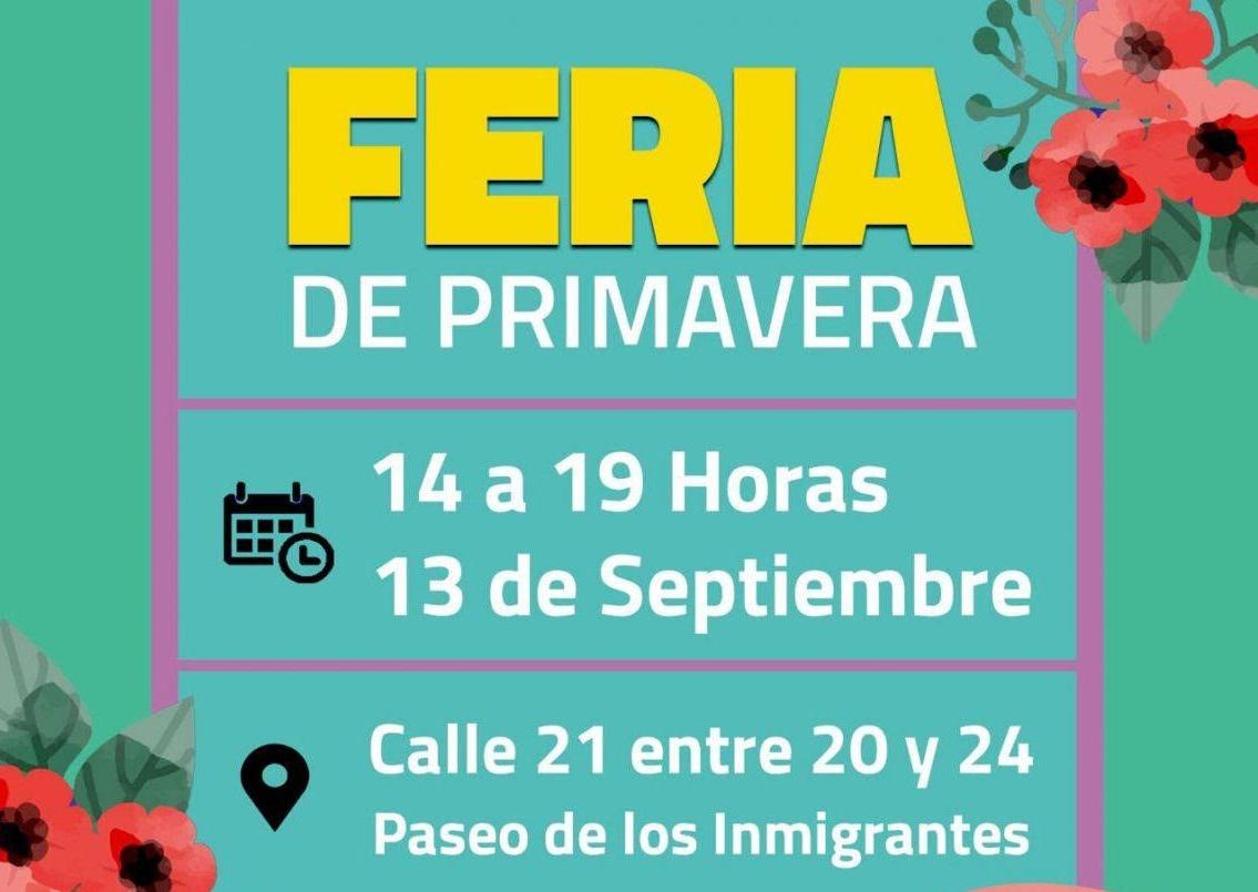 80 emprendedores y emprendedoras que presentarán sus productos en la Feria de la Primavera en General Pico