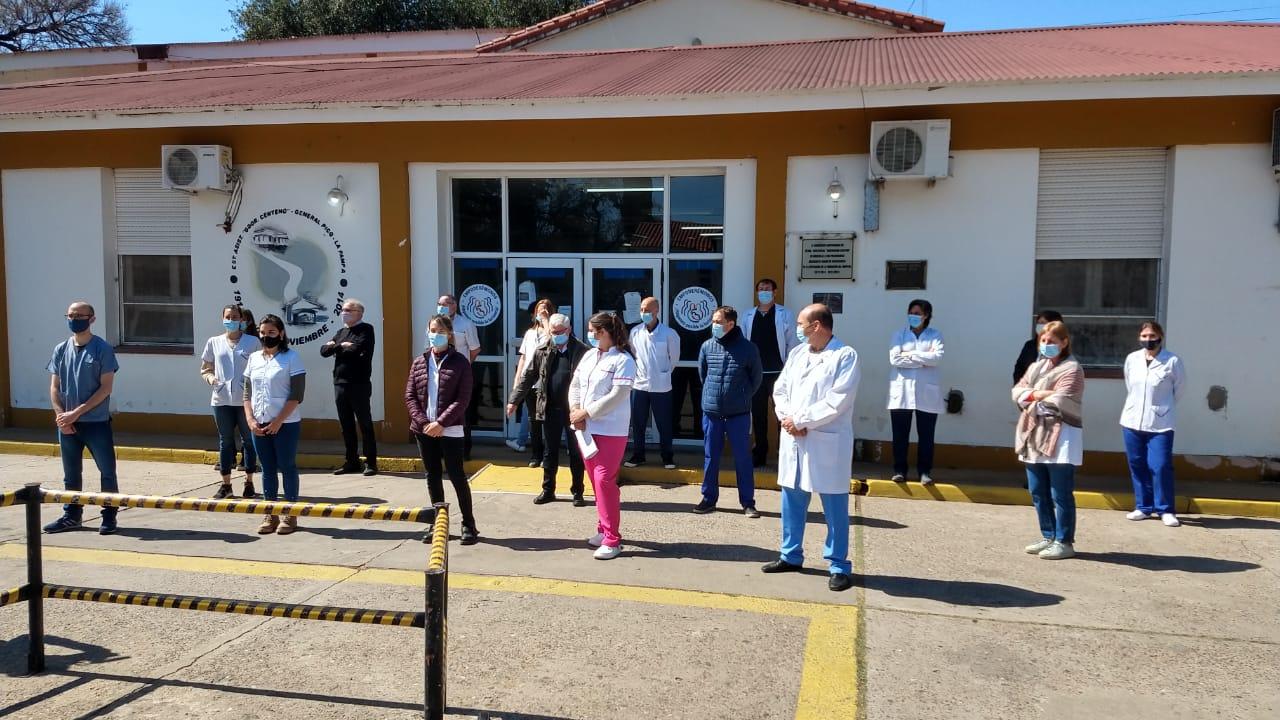 El Hospital Gobernador Centeno recibió a residentes de primer y segundo año para que se formen en la institución