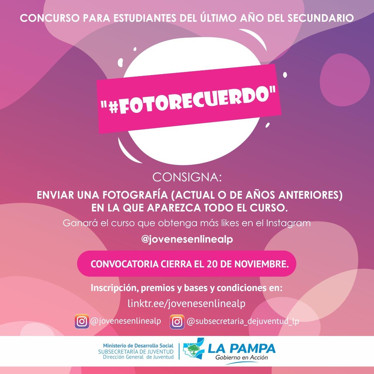 Dirección de Juventud lanza la convocatoria para participar de 6 concursos juveniles