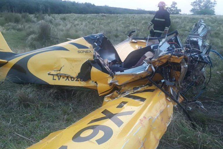 Misiones: un hombre murió y su hijo quedó gravemente herido luego de que se estrellaran con su avioneta
