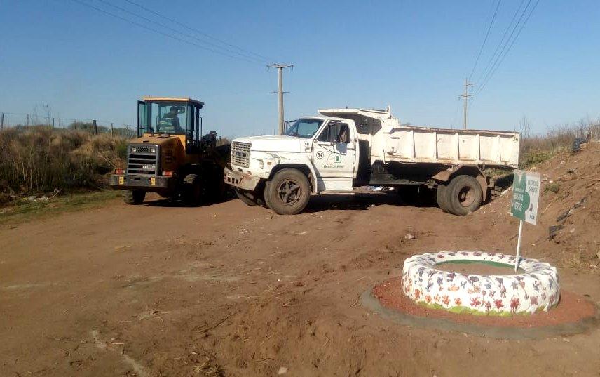 Continúan los operativos de limpieza y erradicación de basurales en General Pico
