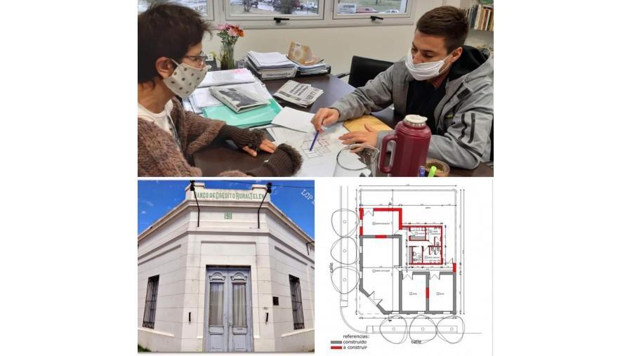 Telén: el Edificio del ex Banco de Crédito Rural ha sido declarado Patrimonio Histórico